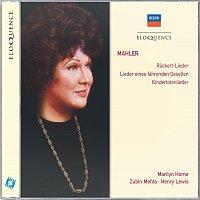 Marilyn Horne, Los Angeles Philharmonic, Zubin Mehta – Mahler: Ruckert-Lieder; Lieder eines fahrenden Gesellen; Kindertotenlieder