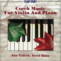 Přední strana obalu CD Dvořák, Suk, Janáček, Smetana: Česká hudba pro housle a klavír