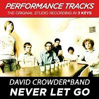 David Crowder Band – Never Let Go (Performance Tracks) - EP