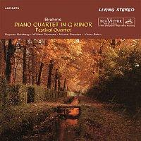 The Festival Quartet, Johannes Brahms, Nikolai Graudan, Victor Babin – Brahms: Piano Quartet No. 1 in G Minor, Op. 25