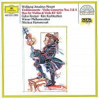 Gidon Kremer, Wiener Philharmoniker, Nikolaus Harnoncourt – Mozart: Violin Concertos Nos. 3 & 4; Duo for Violin and Viola KV 423