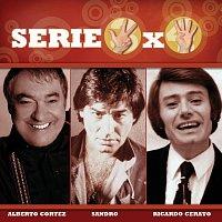 Přední strana obalu CD Serie 3X4 (Alberto Cortez, Sandro, Ricardo Ceratto)