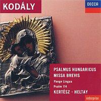 Přední strana obalu CD Kodály: Psalmus Hungaricus; Missa Brevis, etc.