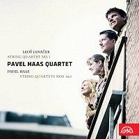 Přední strana obalu CD Janáček: Smyčcový kvartet č.1 - Haas: Smyčcový kvartet č. 1 a 3