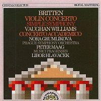 Symfonický orchestr hl.m. Prahy, Peter Maag – Britten, Williams: Houslový koncert d moll, Prostá symfonie - Akademický koncert