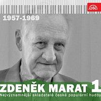Přední strana obalu CD Nejvýznamnější skladatelé české populární hudby Zdeněk Marat 1 (1957-1969)