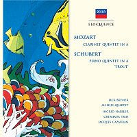 "Jack Brymer, The Allegri String Quartet, Ingrid Haebler, Grumiaux Trio – Mozart: Clarinet Quintet in A; Schubert: Piano Quintet in A - ""Trout"""