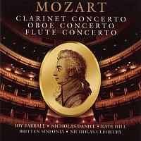 Joy Farrall, Britten Sinfonia, Nicholas Cleobury, Wolfgang Amadeus Mozart – Mozart: Concertos For Flute, Oboe & Clarinet