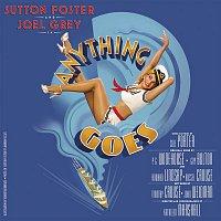 Přední strana obalu CD Anything Goes (New Broadway Cast Recording / 2011)