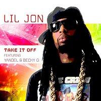 Přední strana obalu CD Take It Off