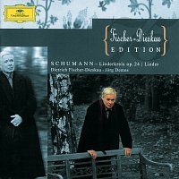 Přední strana obalu CD Schumann: Liederkreis Op.24; Lieder