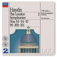 Přední strana obalu CD Haydn: The London Symphonies - Nos. 93, 94, 97 & 99 - 101 [2 CDs]