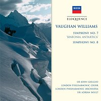 "Sir John Gielgud, London Philharmonic Choir, London Philharmonic Orchestra – Vaughan Williams: Symphony No.7 - ""Sinfonia Antartica""; Symphony No.8"