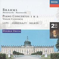 Radu Lupu, Vladimír Ashkenazy, Boris Belkin, London Symphony Orchestra – Brahms: Piano Concertos Nos.1 & 2/Violin Concerto [2 CDs]