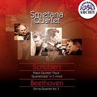 "Jan Panenka, Smetanovo kvarteto – Schubert, Beethoven: Kvintet A dur ""Pstruh"", Kvartetní věta - Kvartet, op. 18/1"