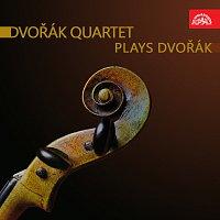 Přední strana obalu CD Dvořákovo kvarteto hraje Dvořáka