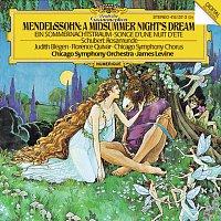 Judith Blegen, Florence Quivar, James Levine, Chicago Symphony Chorus – Mendelssohn: A Midsummer Night's Dream / Schubert: Rosamunde