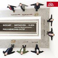 Přední strana obalu CD Mozart, Beethoven, Klein: Hudba pro dechové okteto