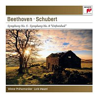 """Lorin Maazel – Beethoven: Symphony No. 5 & Schubert: Symphony No. 8 """"Unfinished""""  - Sony Classical Masters"""