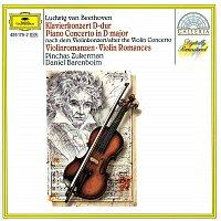 Pinchas Zukerman, Daniel Barenboim, English Chamber Orchestra – Beethoven: Piano Concerto after the Violin Concerto; Violin Romances – CD