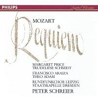 Margaret Price, Trudeliese Schmidt, Francisco Araiza, Theo Adam, Peter Schreier – Mozart: Requiem