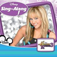 Přední strana obalu CD Disney Singalong - Hannah Montana 3