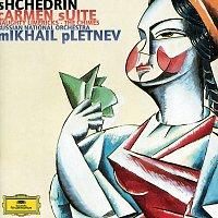 Přední strana obalu CD Shchedrin: Carmen Suite; Naughty Limericks; The Chimes