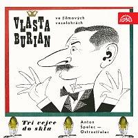 Přední strana obalu CD Vlasta Burian ve filmových veselohrách