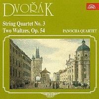 Přední strana obalu CD Dvořák: Smyčcový kvartet č. 3, Dva valčíky, op. 54