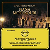 Přední strana obalu CD Live At Herod Atticus