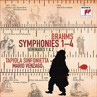 Tapiola Sinfonietta, Johannes Brahms, Mario Venzago – Brahms: Symphonies Nos. 1-4, Serenades Nos. 1 & 2