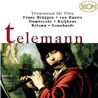Gustav Leonhardt, Georg Philipp Telemann, Brian Pollard, Frans Bruggen, Walter van Hauwe – Telemann: Trio Sonatas