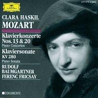 Clara Haskil, Festival Strings Lucerne, RIAS Symphony Orchestra Berlin – Mozart: Piano Concertos Nos.13 & 20; Piano Sonata K.280