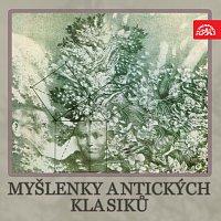 Přední strana obalu CD Myšlenky antických klasiků