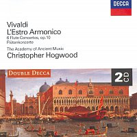 Stephen Preston, The Academy of Ancient Music, Christopher Hogwood – Vivaldi: L'Estro Armonico ; 6 Flute Concertos
