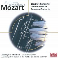 Jack Brymer, Neil Black, Michael Chapman, Academy of St. Martin in the Fields – Mozart: Concertos for Clarinet, Oboe & Bassoon