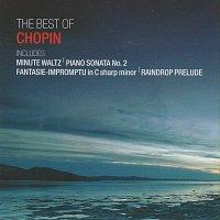 Přední strana obalu CD The Best of Chopin