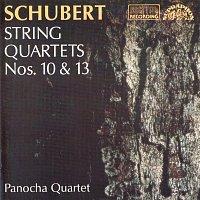 Přední strana obalu CD Schubert : Smyčcové kvartety č. 10, 13