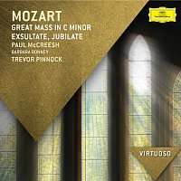 Přední strana obalu CD Mozart: Great Mass in C Minor; Exsultate Jubilate