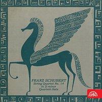 Přední strana obalu CD Schubert: Smyčcový kvartet č. 14 d moll, Kvartetní věta č. 9 c moll