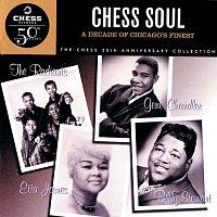 Přední strana obalu CD Chess Soul: A Decade Of Chicago's Finest