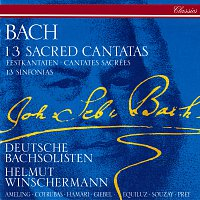 Helmut Winschermann, Elly Ameling, Ileana Cotrubas, Agnes Giebel, Julia Hamari – Bach, J.S.: 13 Sacred Cantatas; 13 Sinfonias