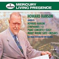 Přední strana obalu CD Howard Hanson conducts Howard Hanson
