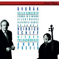 Heinrich Schiff, Wiener Philharmoniker, André Previn – Dvorák: Cello Concerto; Silent Woods etc