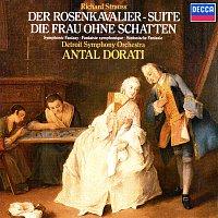 """Přední strana obalu CD Richard Strauss: Der Rosenkavalier Suite; Symphonic Fantasie from """"Die Frau ohne Schatten"""""""