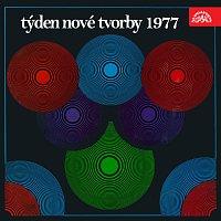 Přední strana obalu CD Týden nové tvorby 1977 Populární hudba