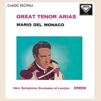 Přední strana obalu CD Mario del Monaco: Great Tenor Arias