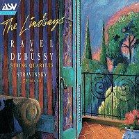 The Lindsays – Debussy & Ravel: String Quartets; Stravinsky: 3 Pieces for String Quartet