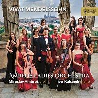 Přední strana obalu CD Vivat Mendelssohn