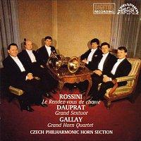 Zdeněk Tylšar, Bedřich Tylšar – Rossini, Dauprat, Gallay: Grand Sextuor C Dur - Grand Horn Quartet-Le Rendez-vous de chasse..